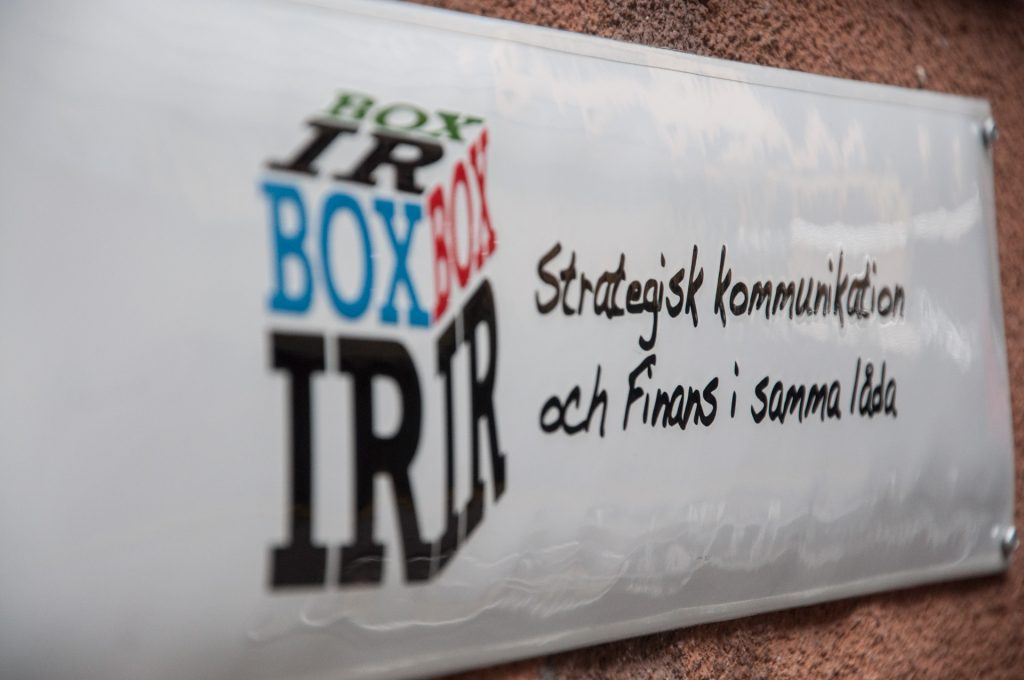 Box IR ny strategisk byrå